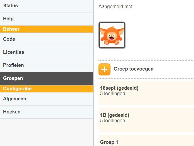 Download instructie 'Groepen aanmaken, delen en verwijderen'