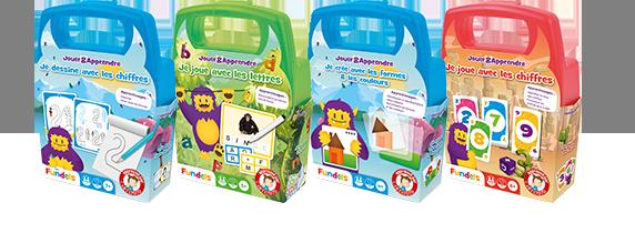 Fundels Jouer&Apprendre - packaging