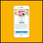 Druk op ontlenen in de Fundels app