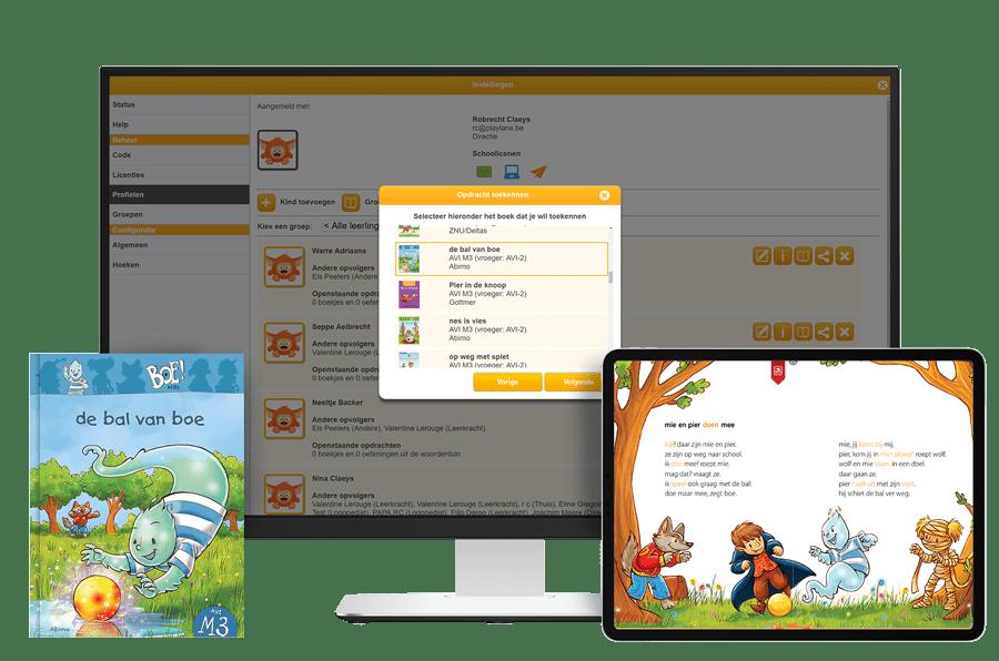 Leerling-opvolgsysteem Fundels AVI-boeken Online